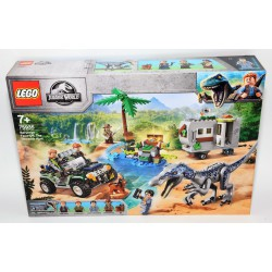 LEGO Jurassic Worl The treasure hunt 75935