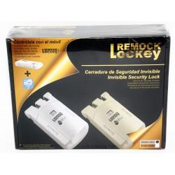 Remock Lockey RLK4G Cerradura de Seguridad Invisible con 4 mandos