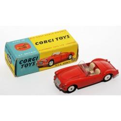 CORGI TOYS 302 MGA SPORTS CAR ROJO