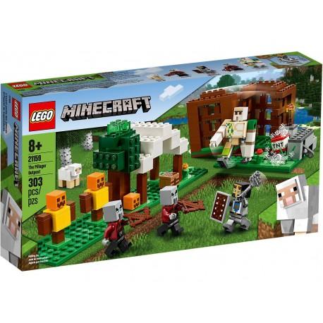 LEGO MINECRAFT El Puesto de Saqueadores 21159 PRECINTADO