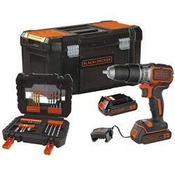 KIT TALADRO BLACK DECKER BL188D2KA31