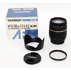 OBJETIVO Tamron Di II AF 18-200mm F3.5-6.3 XR (NIKON)