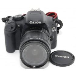 CAMARA REFLEX DIGITAL CANON EOS 550D + 18-55 CANON