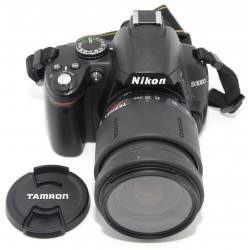 Camara Reflex Digital NIKON D3000 + 28-80mm TAMRON