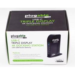 Estación de conexión 4K USB-C PLUGABLE
