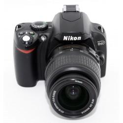 NIKON D40 + NIKON 18-55