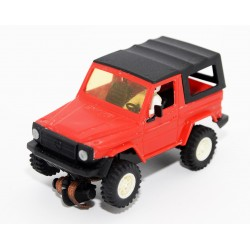 SCALECTRIC STS 4X4 MERCEDES 280 GE ROJO