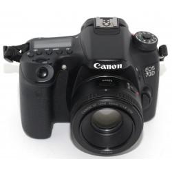 CAMARA REFLEX DIGITAL CANON EOS 70D + CANON 50mm 1.85