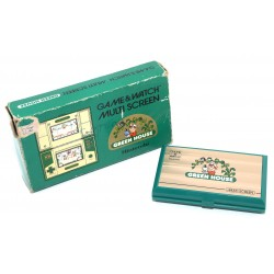 CONSOLA GAME AND WATCH GREEN HOUSE