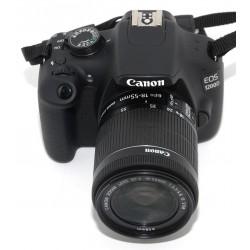 CAMARA REFLEX DIGITAL CANON EOS 1200D + 18-55 CANON