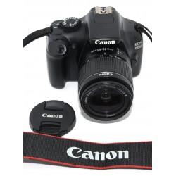 CÁMARA REFLEX CANON EOS 1100D + CANON 18-55