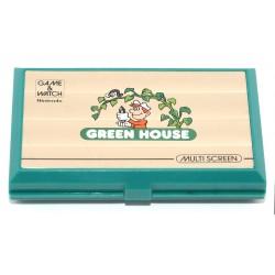 CONSOLA NINTENDO GAME WATCH GREEN HOUSE