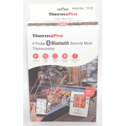 TERMOMETRO COCINA THERMPRO 4 PROBE REMOTE THERMOMETER