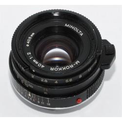 Objetivo Leica Summilux - M 35mm 1:1.4