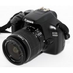 Camara Reflex Digital Canon EOS 1100D + 18-55mm