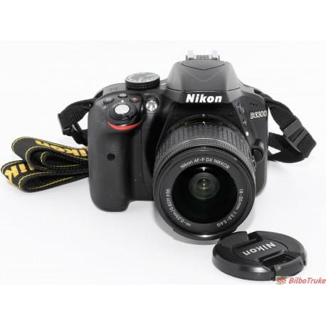31146dbb26bc Cámara Reflex Digital Nikon D3300 | Bilbotruke | Segunda mano Bilbao