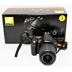Camara Reflex Digital Nikon D3000 + 18-55mm